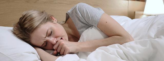 Mi okozhat éjszakai köhögést?