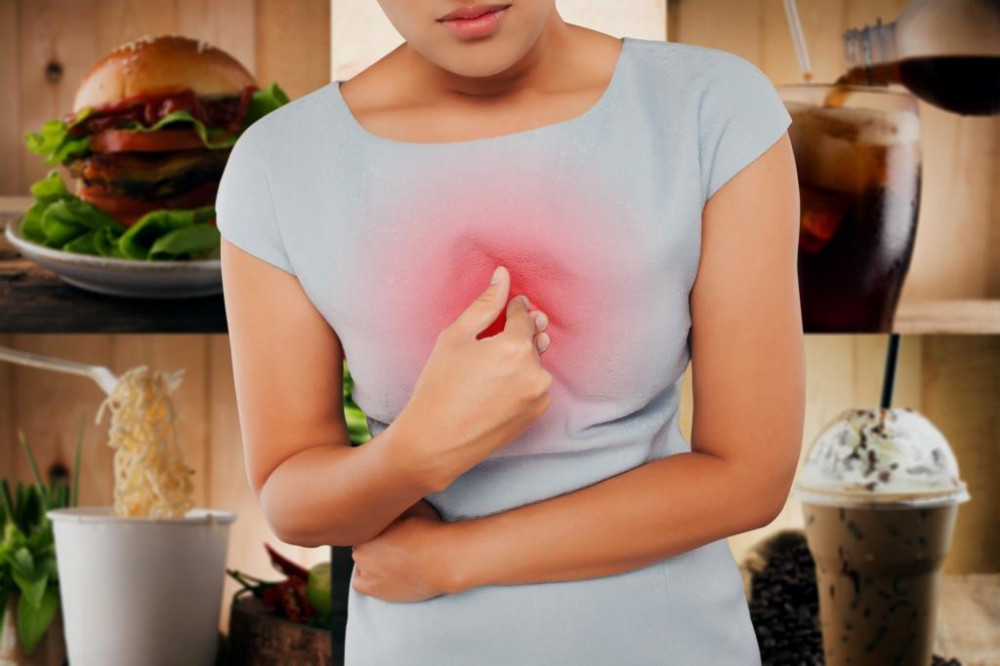 Reflux can also cause a dry throat sensation.